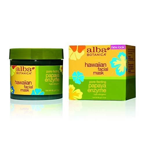 Alba Botanica - Alba hawaiano maschera facciale Papaya Enzyme - 3 oz.