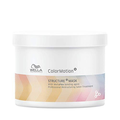Wella Professionals Colormotion Maschera Struttura Trattamento Ristrutturante con Tecnologia Wellaplex 500 ml