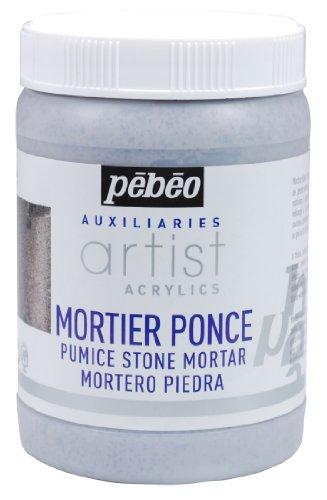250 ml di Pietra Pebeo Mortaio di Pietra pomice Grigio