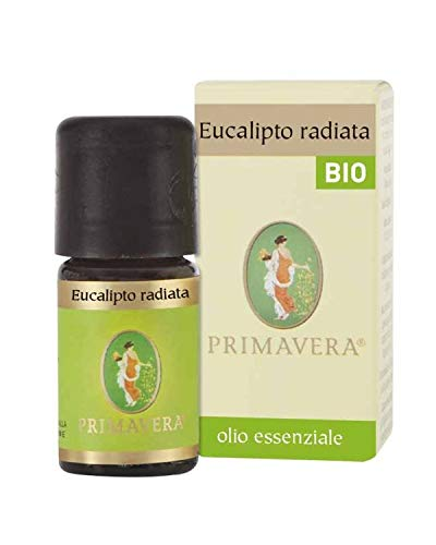 Flora Olio Essenziale di Eucalipto Radiata Bio Codex, Aroma Alimentare - 5 ml