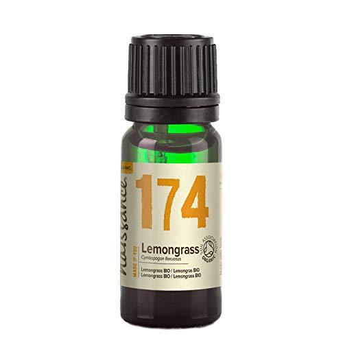 Naissance Olio di Lemongrass Biologico – Olio Essenziale Puro al 100% - 10ml