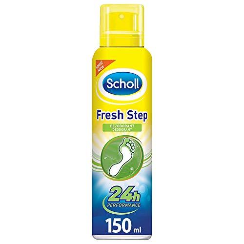Scholl Fresh Step Extra Frisch Fuß Deo, spray per piedi, deodorante per piedi, piedi freschi (150 ml spray).