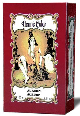 Henne Color Hennè 100G colorazione mogano scuro in polvere 100 GRAMMI