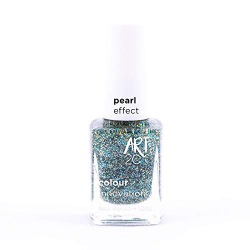 Art 2C Eternal Light Diamond & Pearl Effect Nail Polish - Smalto per unghie effetto diamante e perla, 6 colori, 12 ml, colore: DP05