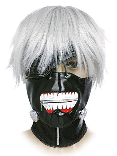 CoolChange Maschera e Parrucca di Tokyo Ghoul di Ken Kaneki