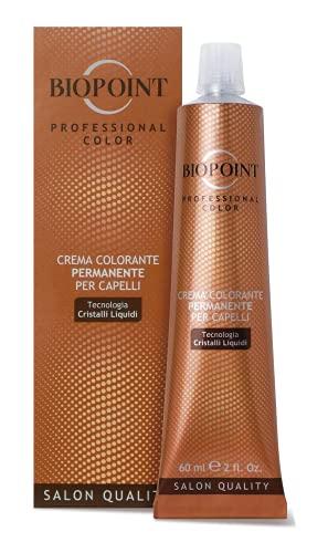 Biopoint Crema colorante permanente per capelli Professional Color - 7.43 Biondo Medio Ramato Dorato - 60ml