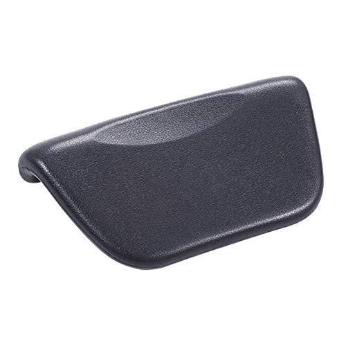 szlsl88 - Cuscino ergonomico per vasca da bagno, in pelle PU, antiscivolo, accessorio per il collo del bagno, con ventosa, comodo poggiatesta