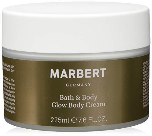 Marbert Bath & Body Glow Cream - Crema corpo, confezione da 2 (2 x 225 ml)