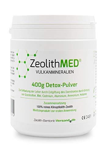 Zeolite MED Detox-Polvere 400g Dispositivo Medico CE