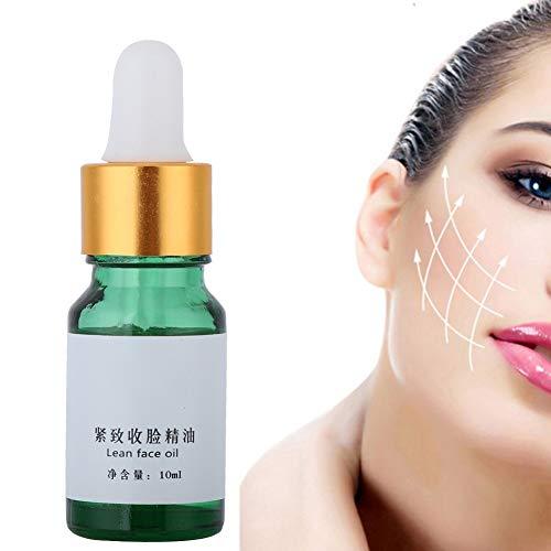 Olio essenziale per il viso, 10 ml drenante, brucia grassi e rassodante penetra 6 volte meglio di una crema anticellulite