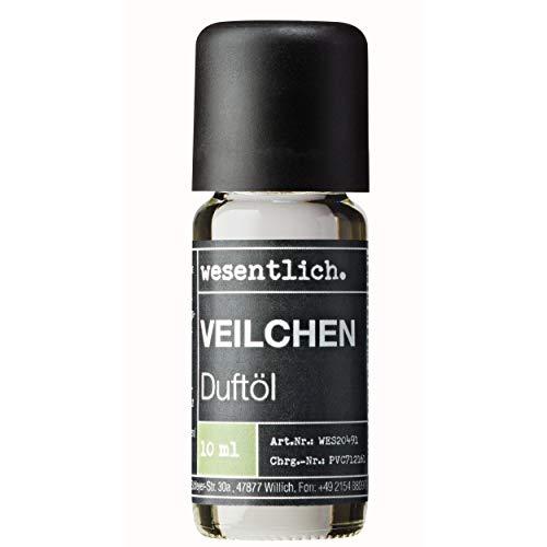 wesentlich. Olio profumato alla violetta, olio aromatico, per lampade profumate e diffusori, profumo per ambienti di alta qualità, 10 ml