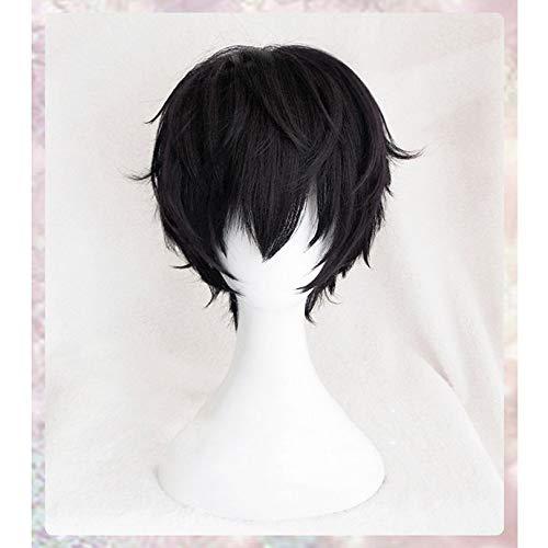 Gioco di alta qualità P5 Persona 5 Parrucche Amamiya Ren Parrucche Kurusu Akira Joker Parrucca sintetica corta resistente al calore resistente al calore + Protezione per parrucca