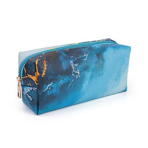 Beauty Case da Viaggio Borsa per Toilette Uomo Donna per Valigie Bagaglio make up Borsa Cosmetica Unisex Toiletry Bag Borsa da Viaggio per Lavaggio,blu oceano