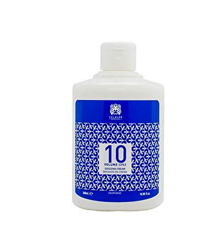 Valquer Profesional 38417 - Crema Professionale Ossigenata Valquer Stabilizzata, 20 Volumi (6%). Colorazione permanente dei capelli Uso professionale parrucchiere. Formulazione Vegana - 1000 Ml