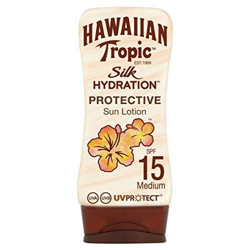 Hawaiian Tropic SILK HYDRATION LOTION SPF 15, Lozione - 180 ml