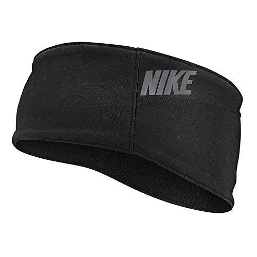 Nike - Fascia per capelli da adulto, unisex, colore nero/bianco, taglia unica