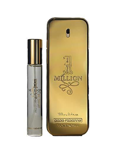 Paco Rabanne 1 Million Gift Set (Eau De Toilette Spray 100 Ml+Travel Spray 20 Ml - 120 Ml