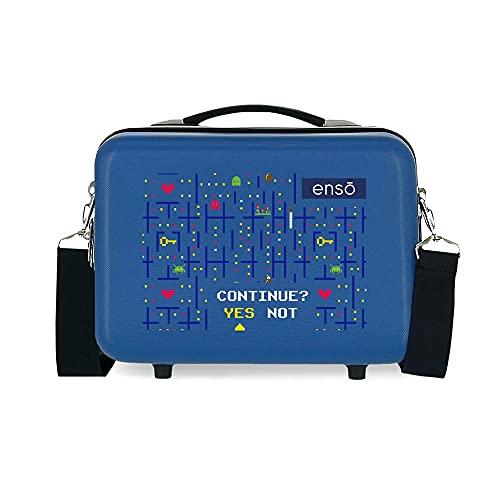 Enso Gamer Beauty case adattabile blu 29 x 21 x 15 cm rigido ABS 9,14 L