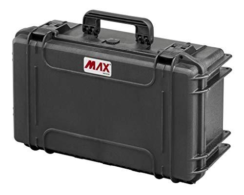 Max Cases - Valigia Fotografica con Divisorie Mobili Imbottite per Trasportare e Proteggere Apparecchiature e Materiali Sensibili, MAX520CAM, Dimensioni Interne 520 x 290 x 200 mm