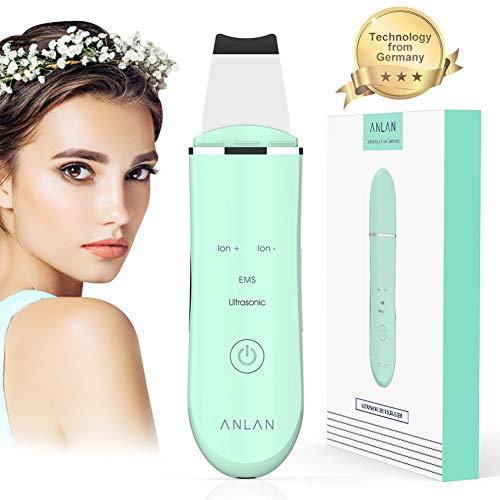 ANLAN Ultrasonic Pulizia del Viso Spazzola Pulizia Viso Peeling Pore Cleaner Dispositivo di Pulizia Rimozione di Comedone