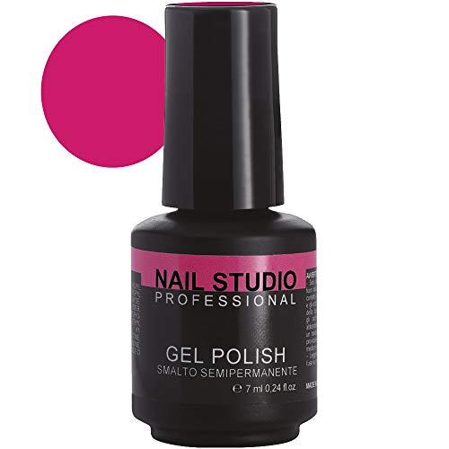 Nail Studio Professional - Gel Polish N.23 - Smalto Semipermanente Unghie - Smalto Gel per Unghie Effetto Diamante - Colore Intenso e Brillante, Distribuito Uniformemente - 7 ml