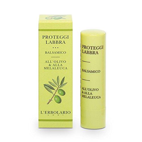 L 'erbolario - Protezione per le Labbra, Balsamo (Olive, Olio dell' Albero del Tè), 1 X 4.5 ml
