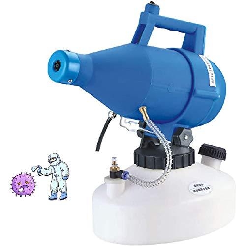 GWJ Elettrico Disinfezione spruzzatore, 4.5L Fogger Macchina Disinfector nebulizzatore, 0-30 Micron, 8M-10M spruzzatura Distanza per Impresa Hospital School Hotel Farm