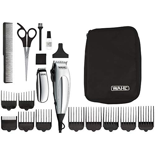 Wahl 79305-1316 Wahl Deluxe HomePro Tagliacapelli, Chrome/Silver, chrome, silver