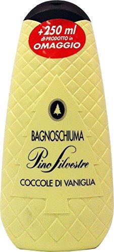 PINO SILVESTRE Bagno Schiuma Coccole Di Vaniglia 500+250 Ml