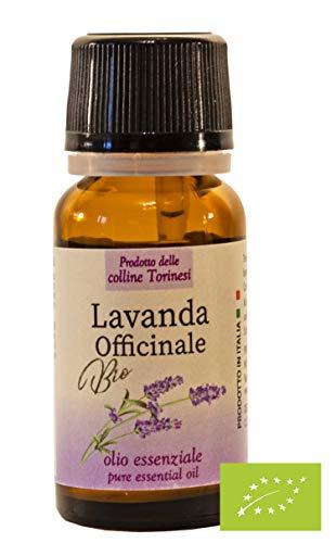 Olio Essenziale di Lavanda Officinale Biologico BIO 10ml - 100% PURO non diluito - Coltivazione ITALIANA Biodinamica
