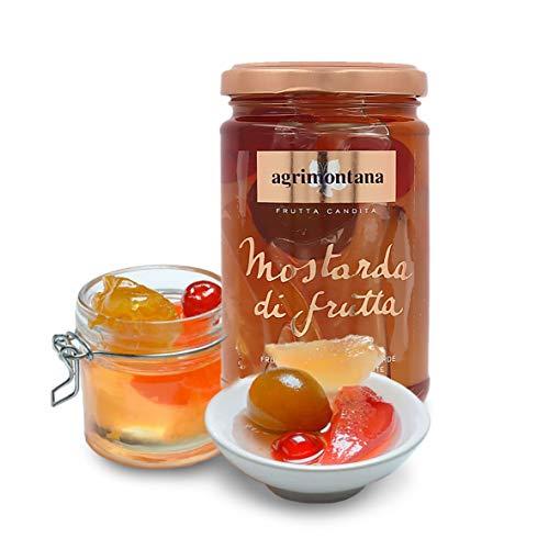 Agrimontana Mostarda Di Frutta Mista, 390 Grammi / Peso Sgocciolato: 200 Grammi