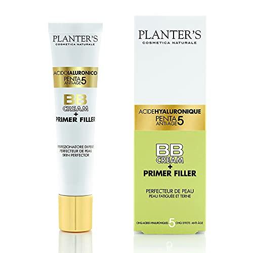 Planter's - Acido Ialuronico Penta 5 BB Cream Primer Filler Effetto Anti-età e Anti-invecchiamento. Tubo da 40 ml.