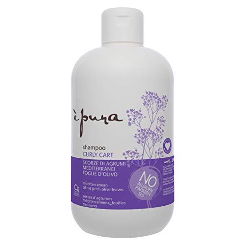 È Pura - Shampoo Curly Care - Trattamento per Capelli Ricci Naturali e Con Permanente - Protegge dall'Effetto Crespo - 500 ml