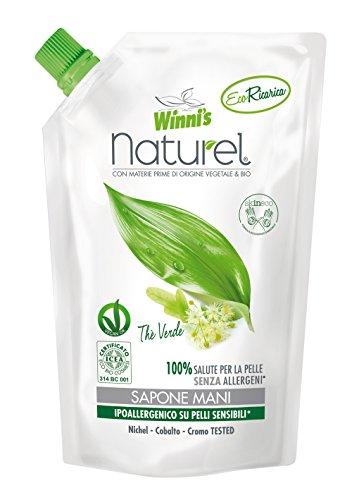 Winni's Naturel Ecoformato Sapone Liquido per le Mani e il Viso - 500 ml - [confezione da 8]