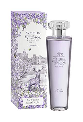 Woods of Windsor, Eau de Toilette spray Donna alla lavanda, 1 x 100 ml