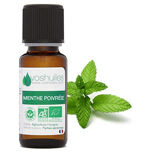 Olio essenziale biologico menta piperita
