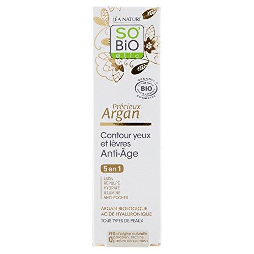 SO BiO Etic Preziosa Argan Occhi e Labbra Anti-Aging