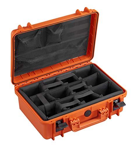 Max MAX430CAMORG, Valigetta Unisex Adulto, Arancione, 426 x 290 x H159 mm