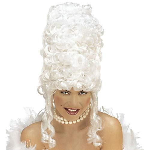 Widmann- Nobili Disney Parrucca Marie Antoinette Donne, Bianco, Taglia unica, WID6249R