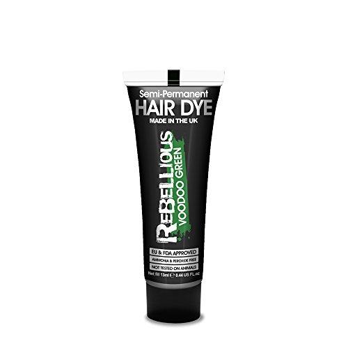 PaintGlow, tintura per capelli semipermanente, 13 ml, verde voodoo