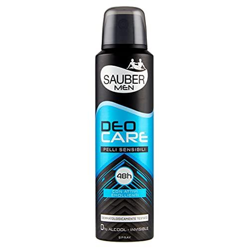 Sauber Deodorante Deocare Men Spray (Pelli Sensibili - 150 Ml