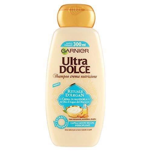 Garnier Garnier Ultra Dolce Shampoo Crema Rituale D'Argan, per Capelli Molto Secchi, 300ml