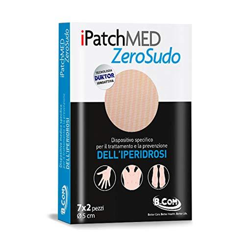 ZeroSudo Cerotti - Patch per il Trattamento dell'Iperidrosi (Sudorazione Eccessiva) per Ascelle, Mani, Piedi - Tecnologia Duktor (ionoforesi) - Dispositivo Medico CE - 14 Cerotti