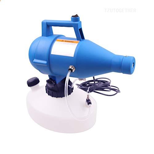 Cabina Home Portatile Elettrico Nebulizzatore, 4.5L Fogger ULV Spruzzatore Micro Spruzzo per l'igiene Interna/Esterna, spruzzatori di irrigazione per irrigazione Industriale per uffici agricoli
