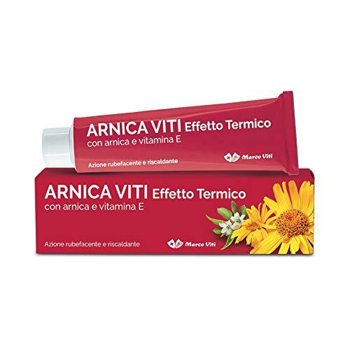 Marco Viti Farmaceutici Arnica Crema Effetto Termico, Multicolore, 100 Millilitri