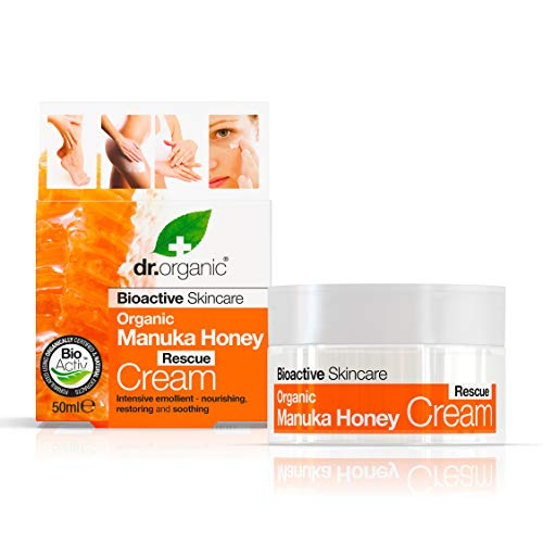 Dr.Organic Manuka Honey Crema Viso, 50ml