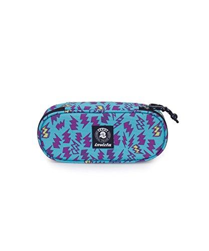 Portapenne INVICTA - LIP PENCIL BAG - Blu Viola - porta penne scomparto interno attrezzato