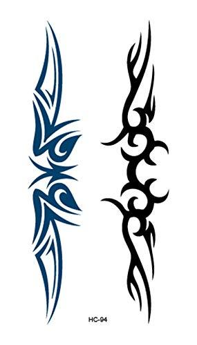 Tatuaggi temporanei impermeabili 10 pz Butterfly Flower Girls Tatuaggio Temporaneo Tatuaggio Nero Design Vita Body Falso Tatuaggio Tattoo Autoadesivo Gamba Pancia Impermeabile per le donne per donne,
