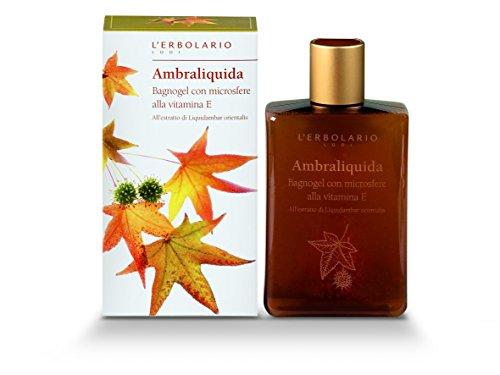 L 'erbolario Ambraliquida da bagno e gel doccia, 1er Pack (1X 250ML)