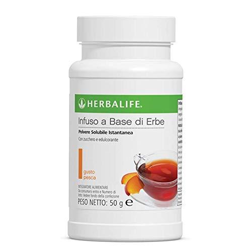 Herbalife Infuso a Base di Erbe Polvere Solubile Istantanea - Pesca - 50g